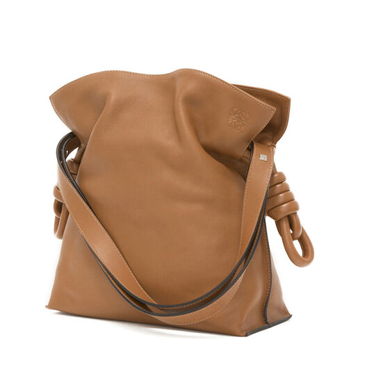 LOEWE Flamenco Knot Bag Tan all