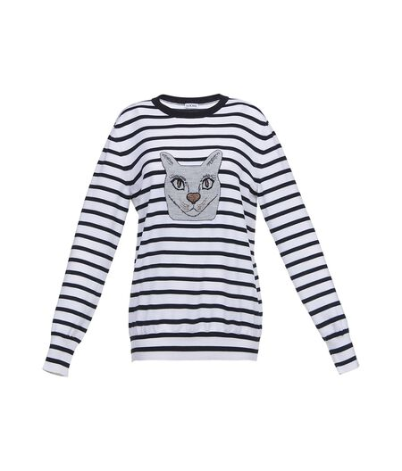 Cat Sweater Stripes
