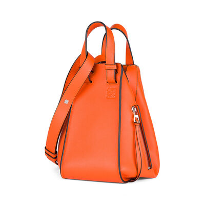 LOEWE Hammock Small Bag Orange front