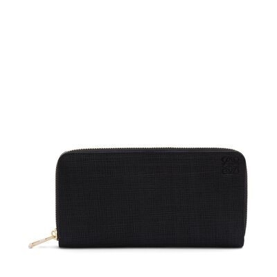 LOEWE Zip Around Wallet Black front
