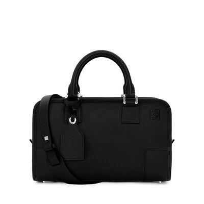 LOEWE Amazona 28 Bag Black/Palladium front