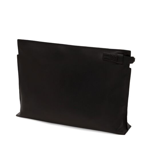 LOEWE T Pouch Negro/Oro all