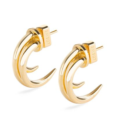 LOEWE Tentacle Earring S Gold front