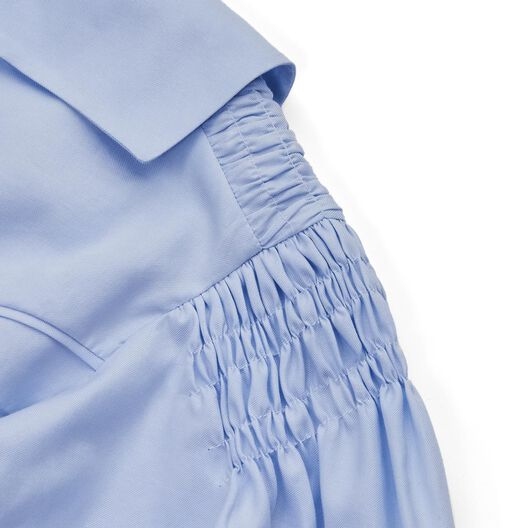 LOEWE Shirt Smock Detail Baby Blue all