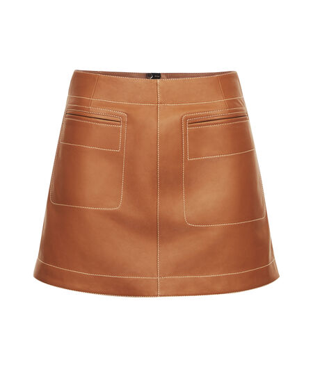 LOEWE Mini Skirt Tan all