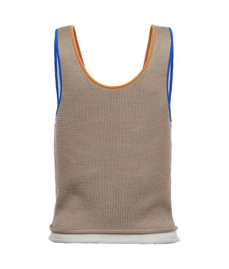 LOEWE Knit Tank Top Sand all
