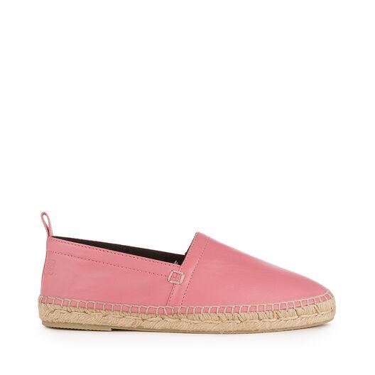 LOEWE Espadrille Nappa Pink all