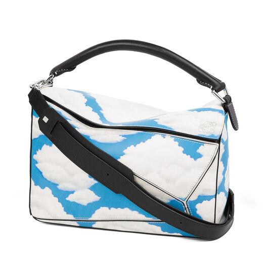 Puzzle Clouds Bag