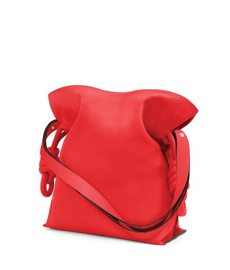 LOEWE Flamenco Knot Bag Primary Red all