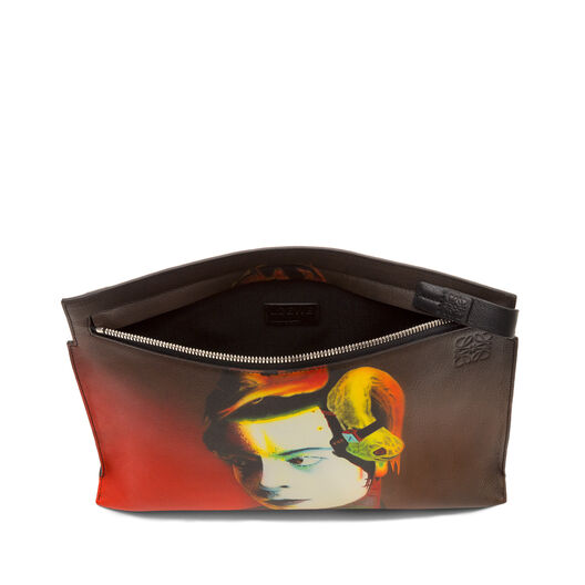 LOEWE  T Pouch Ouka Leele Multicolor/Red all