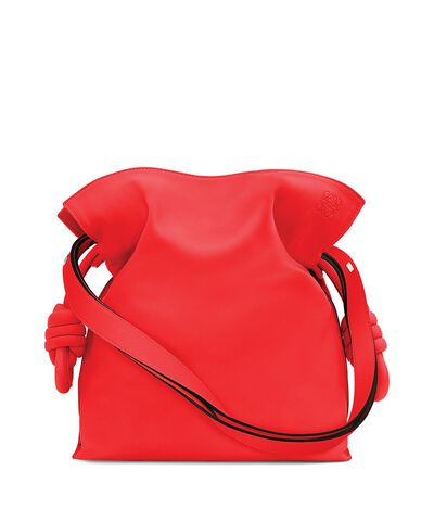 LOEWE Flamenco Knot Bag Primary Red front