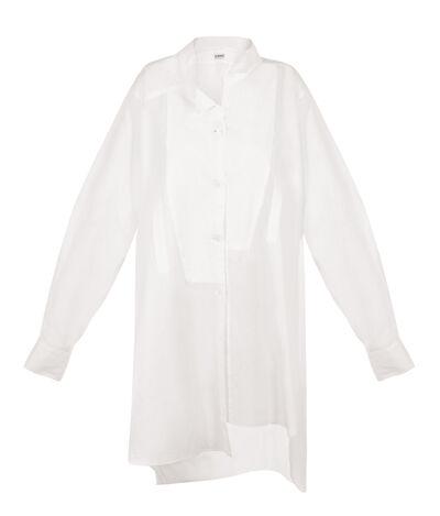 LOEWE Asymetric Shirt White front