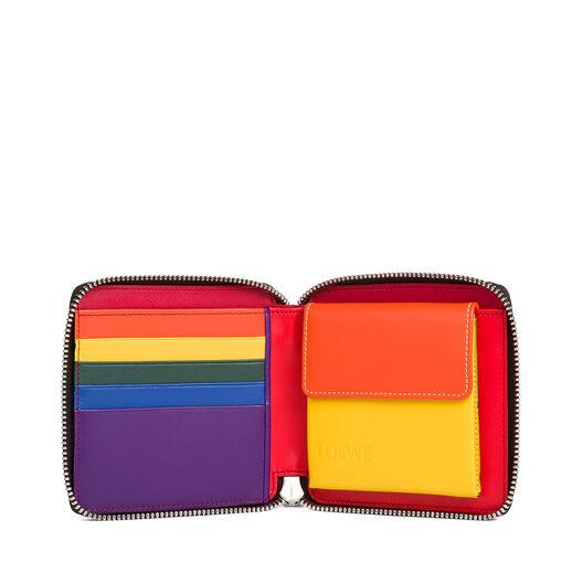 Billetero Con Monedero Rainbow