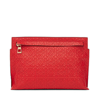LOEWE T Mini Bag Primary Red front