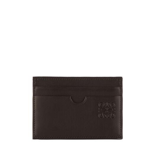LOEWE Flat Card Holder Black/Kakhi Green all