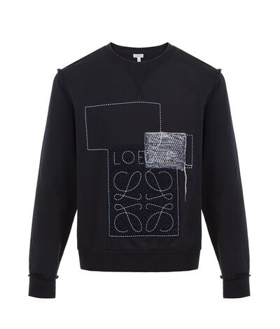 Anagram Patches Sweatshirt