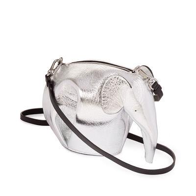 LOEWE Elephant Mini Bag Silver front