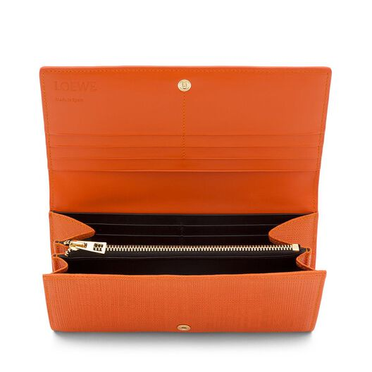 LOEWE Continental Wallet Orange all