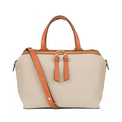 LOEWE Zipper Bag Natural/Tan front