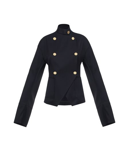 LOEWE Db Gold Button Jacket Black all