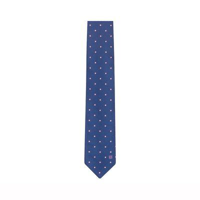 7Cm Dots Jacquard Tie