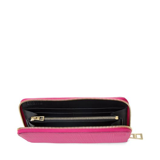 LOEWE Zip Around Wallet Fuchsia all