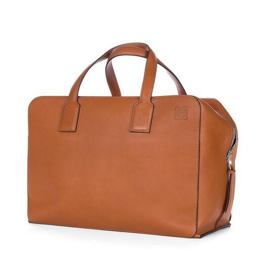 LOEWE Goya Weekender Bag Tan all