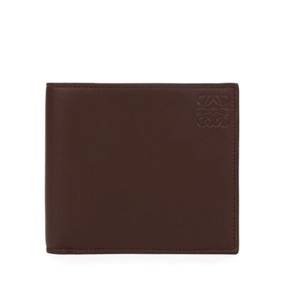 LOEWE Billetero Chocolate/Burdeos front
