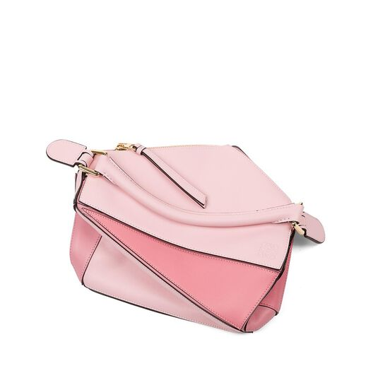 LOEWE Puzzle Small Bag Soft Pink/Candy/Dark Pink all