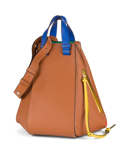 LOEWE Hammock Stars Bag Tan all