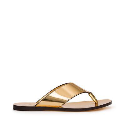 Gold Sandal