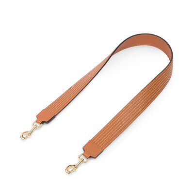 LOEWE Stitches Strap Tan front