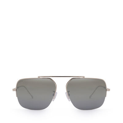 LOEWE Figueral Sunglasses Palladium front