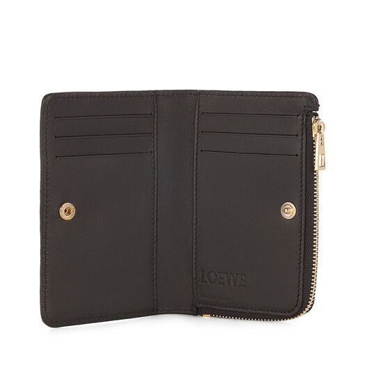 LOEWE Small Zip Wallet Black all