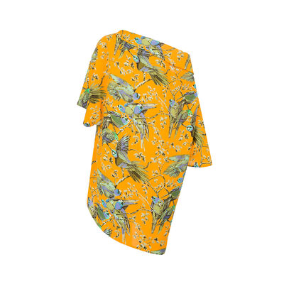 LOEWE Scarf Top Paula Orange/Multicolour front