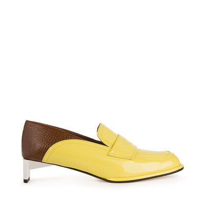 Low Heeled Moccasin