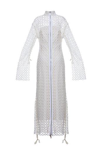 LOEWE Dress Guipure White all