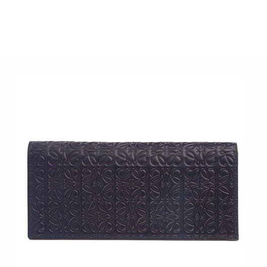 LOEWE Long Horizontal Wallet Marine all