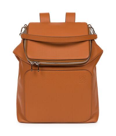 LOEWE Goya Backpack Tan front