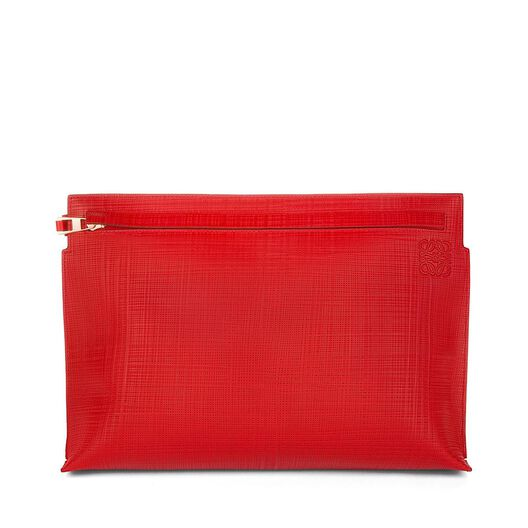LOEWE T Pouch Primary Red all