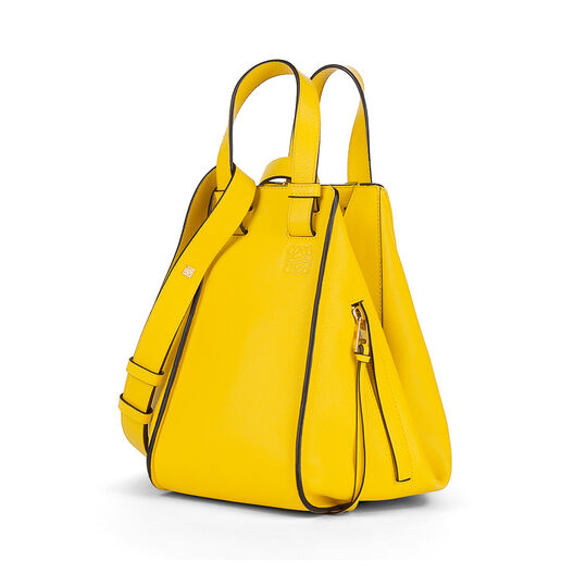 LOEWE Hammock Small Bag Yellow all