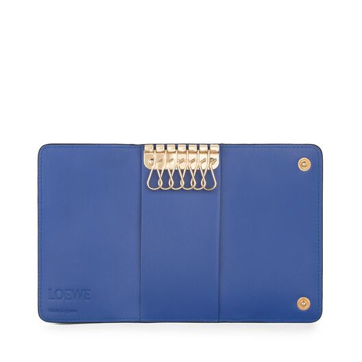 LOEWE 6 Keys Keyring Electric Blue all