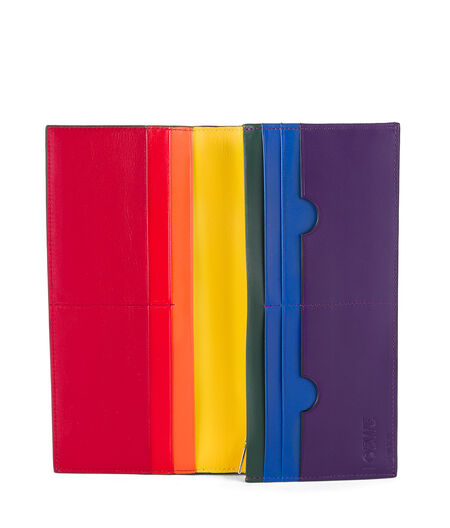 Long Horizontal Wallet Rainbow