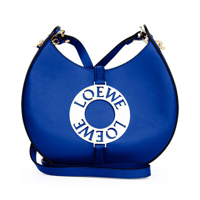 LOEWE Joyce Small Bag Electric Blue front