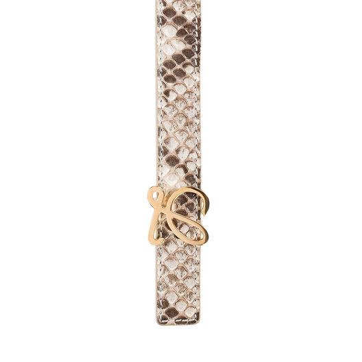 LOEWE L Belt 2Cm Natural/Gold all