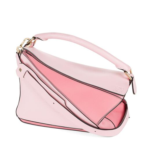 LOEWE Puzzle Bag Soft Pink/Candy/Dark Pink all