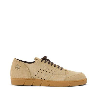 LOEWE Sneaker Gold front
