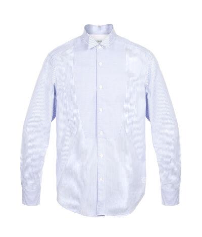 LOEWE Wing Collar Shirt White/Blue front