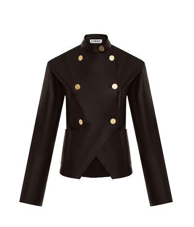 LOEWE Db Cutaway Jacket Black front