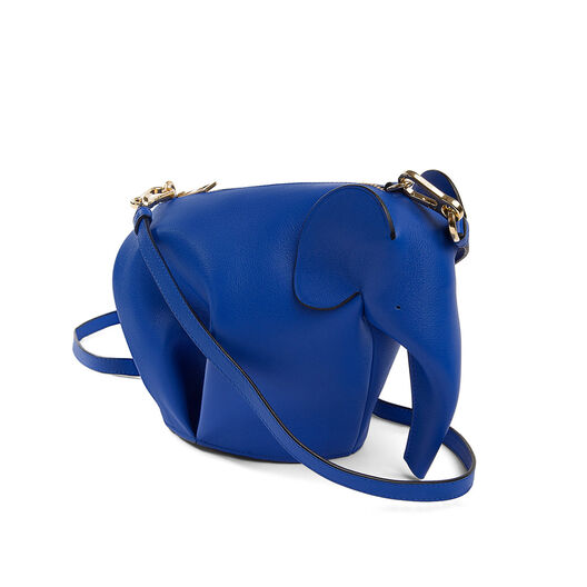 LOEWE Elephant Mini Bag Electric Blue all